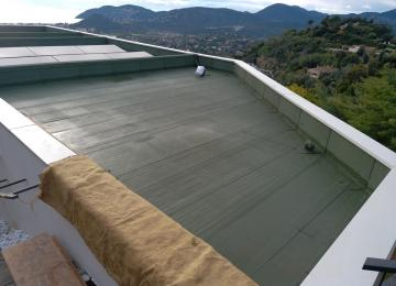 Installation Clean Jardin toiture végétalisée - Alpes-Maritimes
