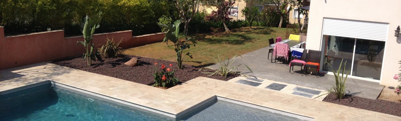 Aménagement d'un jardin à Nice