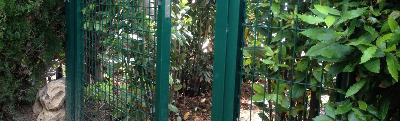 Fourniture et installation de portillon à Antibes (06)