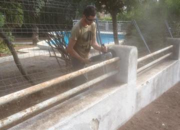 Rénovation de clôture Cap d'Antibes - Clean Jardin (06) Alpes Maritimes