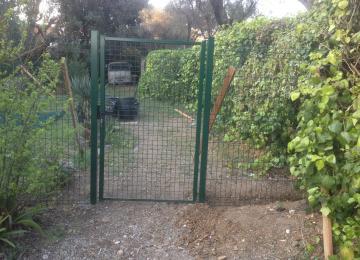 Installation clôture et portillon