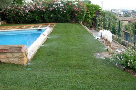 Arrosage automatique des pelouses à Valbone (06)