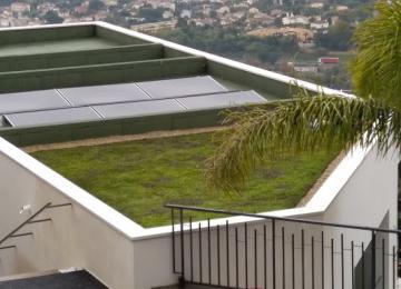 Toiture vegetale Clean Jardin à Mandelieu - Alpes Maritimes Clean Jardin
