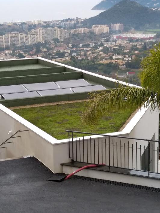 Vegetalisation De Toit Creation De Toiture Vegetalisee Pour Un Constructeur A Mandelieu 06